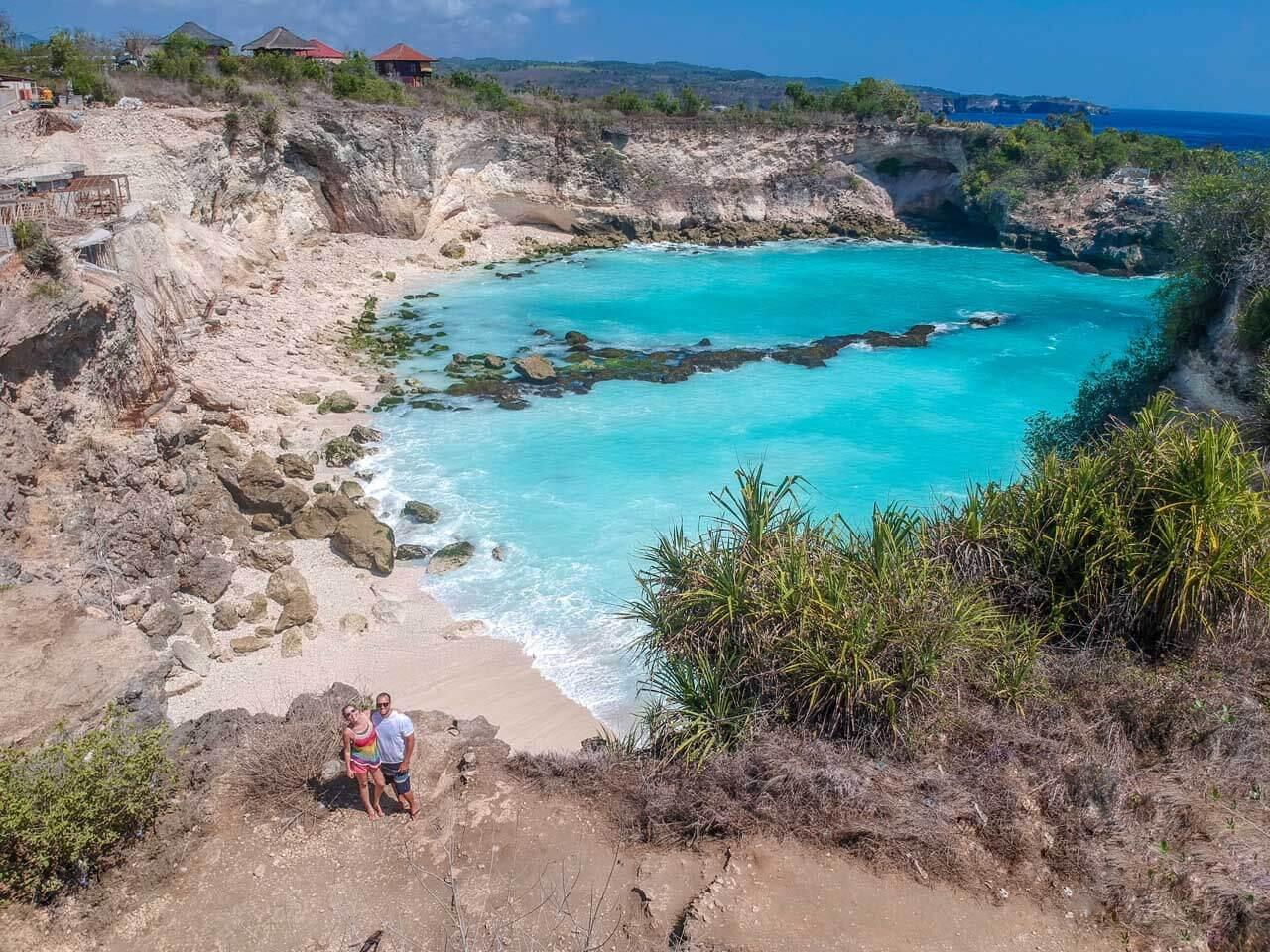 Blue Lagoon em Nusa Ceningan