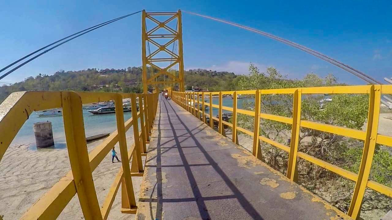 Yellow Bridge em Nusa Lembongan
