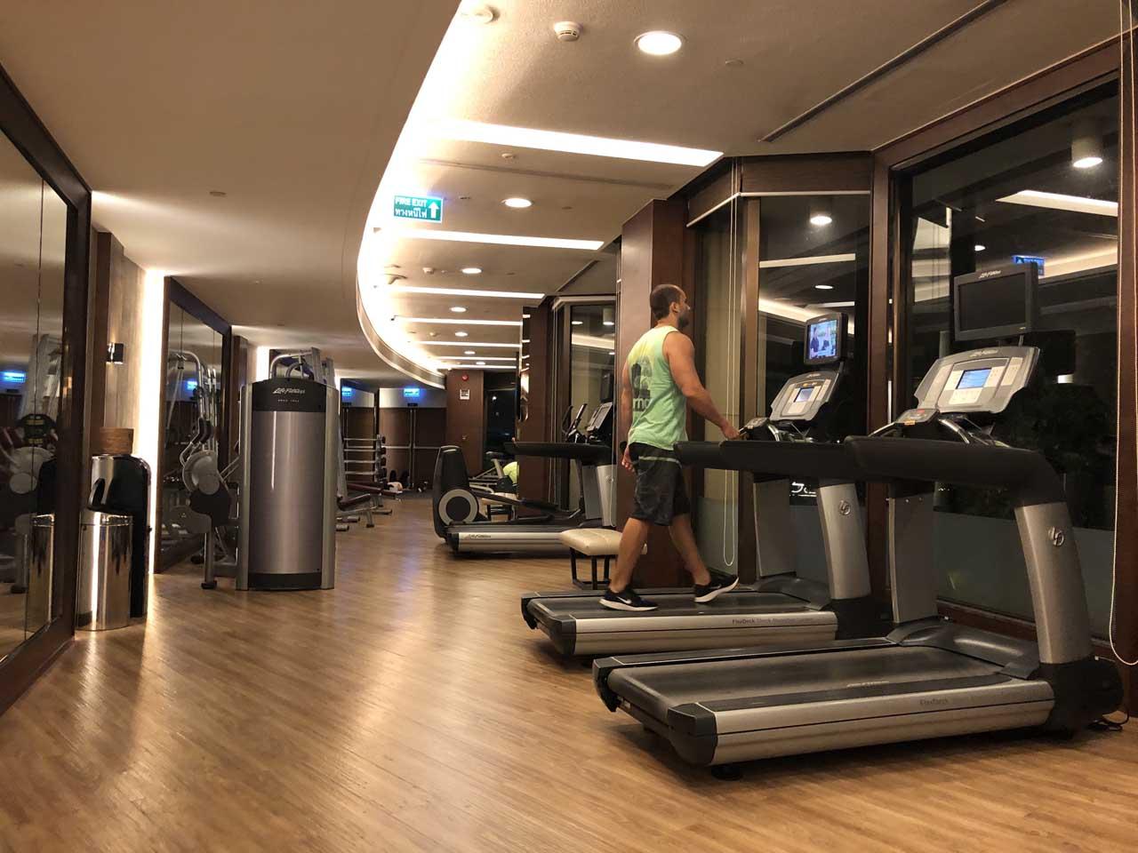 Academia do hotel Shangri-la Bangkok