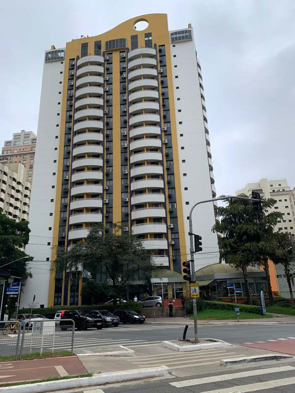 Hotel Transámerica Executive Moema localizado em São Paulo