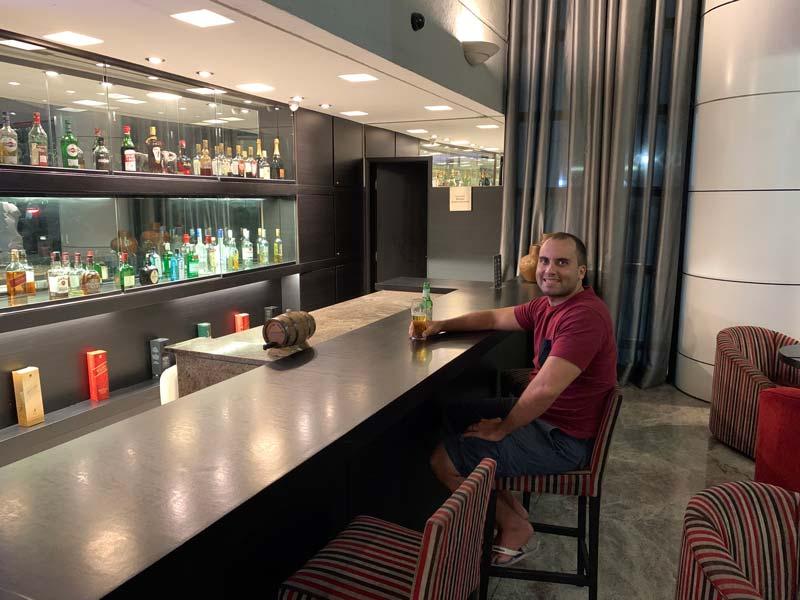 Bar do hotel Blue Tree Premium Paulista em SP
