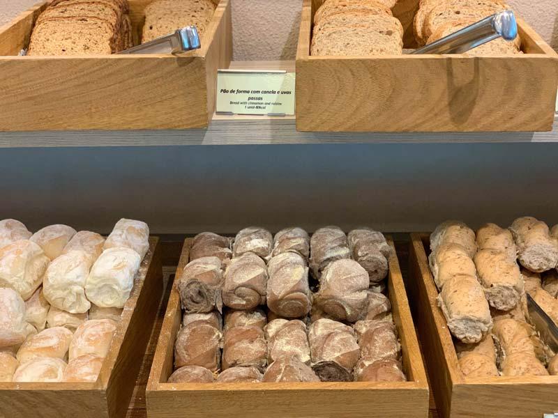 Diversos tipos de pães
