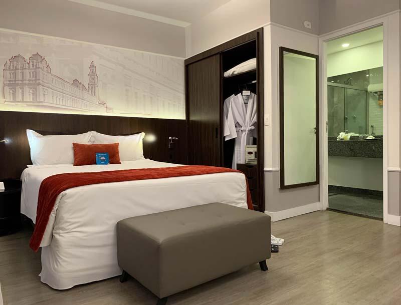 Quarto do hotel Blue Tree Premium em SP