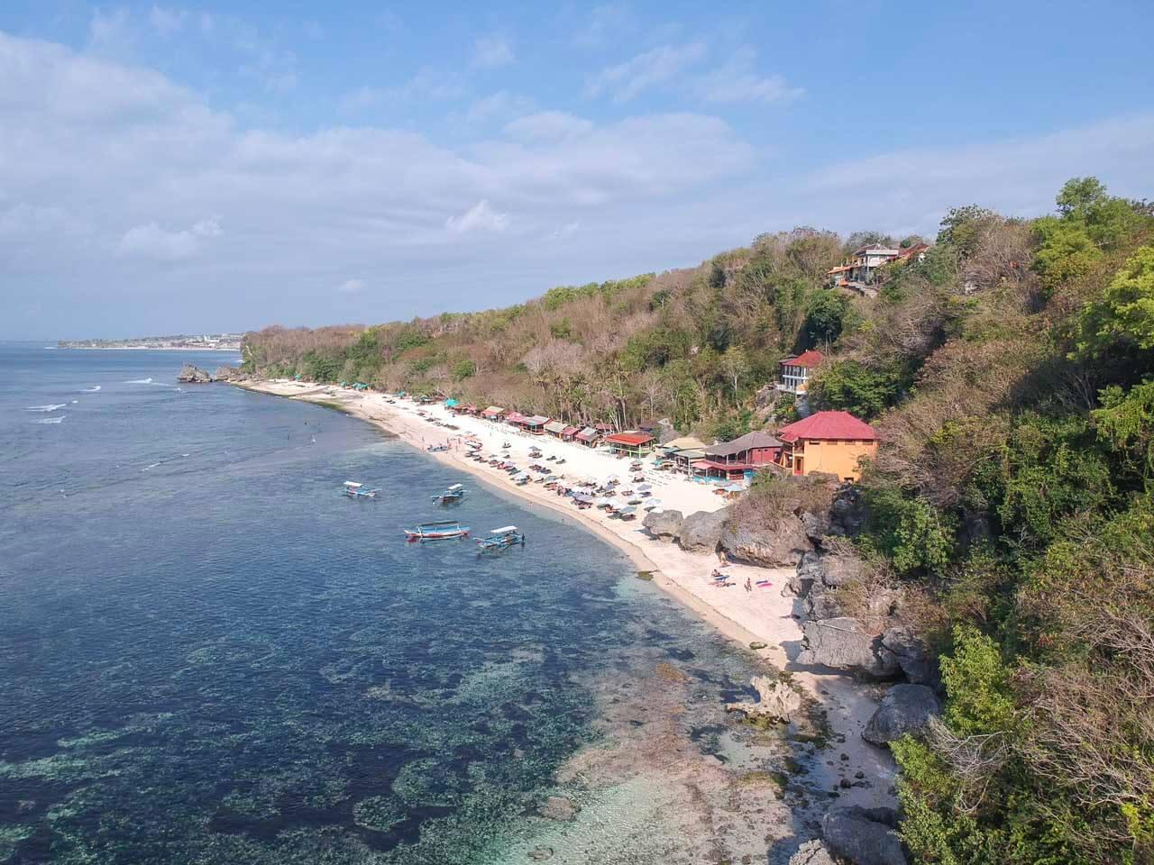 Tomas Beach foto de drone 1