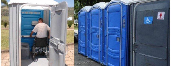 Agora é LEI! Banheiros químicos acessíveis são obrigatórios nos eventos