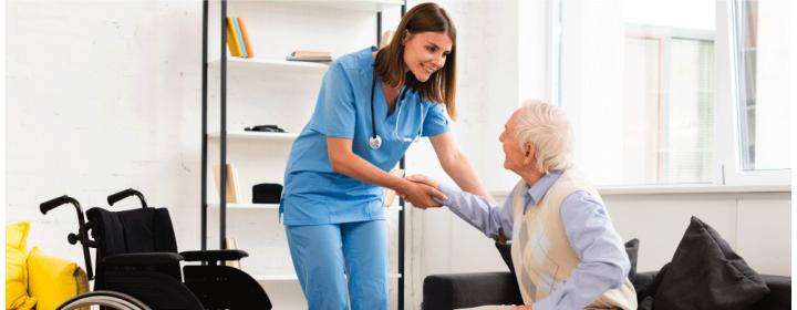 Como se tornar um cuidador de idosos?