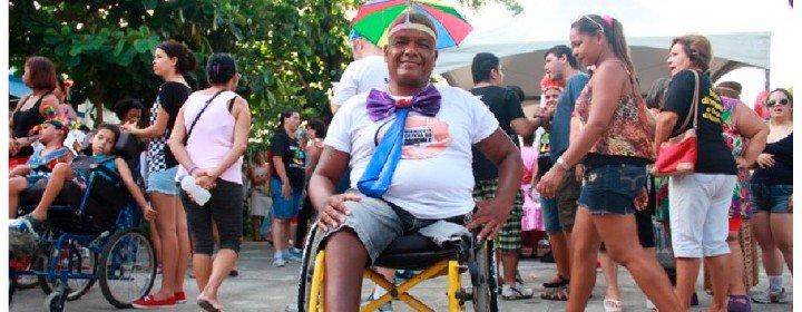 O Carnaval é uma festa acessível para pessoas com deficiência?