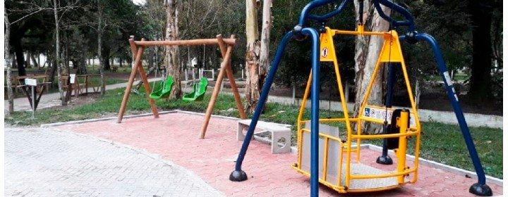 Projeto Alpapato leva parques acessíveis para crianças com deficiência