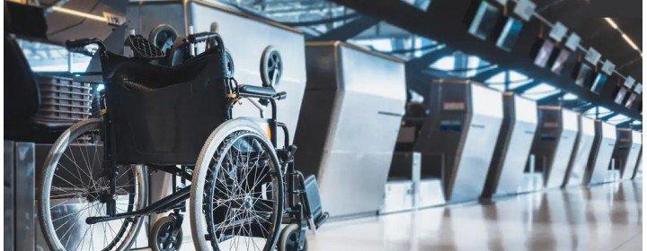 Como é a acessibilidade nos aeroportos?