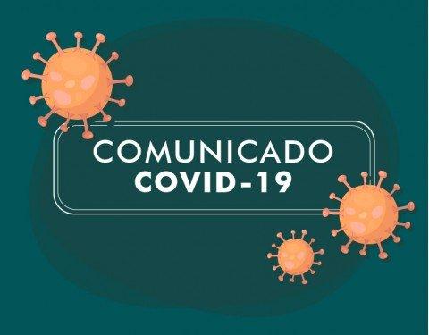 Banner comunicado covid-19