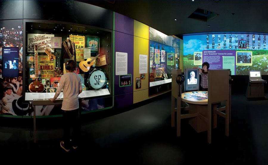 British Music Experience - Museu da Música Britânica - Exposicao multimidia