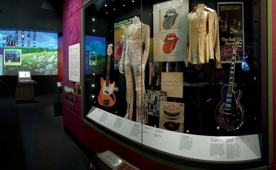 British Music Experience - Museu da Música Britânica - Rolling Stones