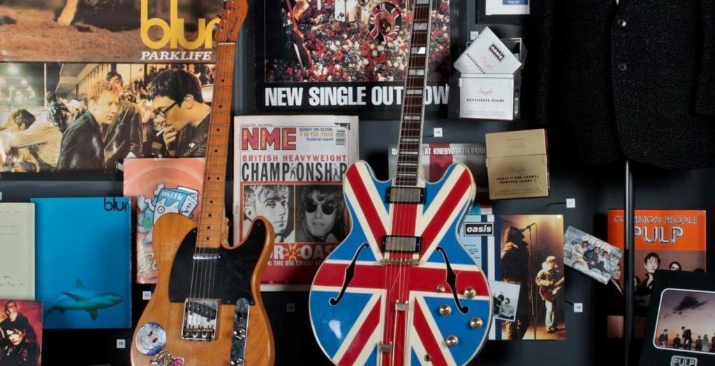 Museu da Musica Britanica, em Liverpool - British Music Experience