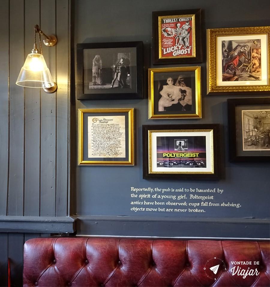 Pubs de Edimburgo - Pub Last Drop em Edimburgo e assombrado