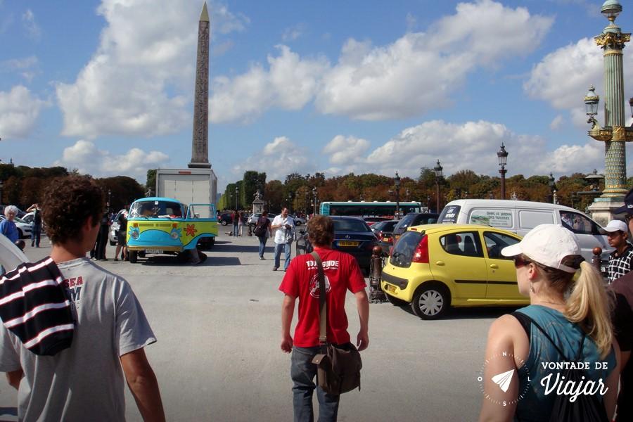 Free walking tour na Europa - Place de la Concorde Paris