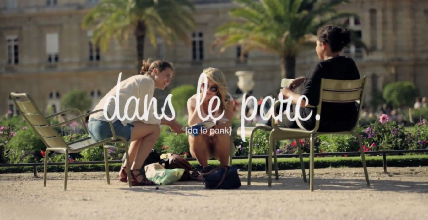 Intercambio idioma - Aprender a falar frances - Dans le parc