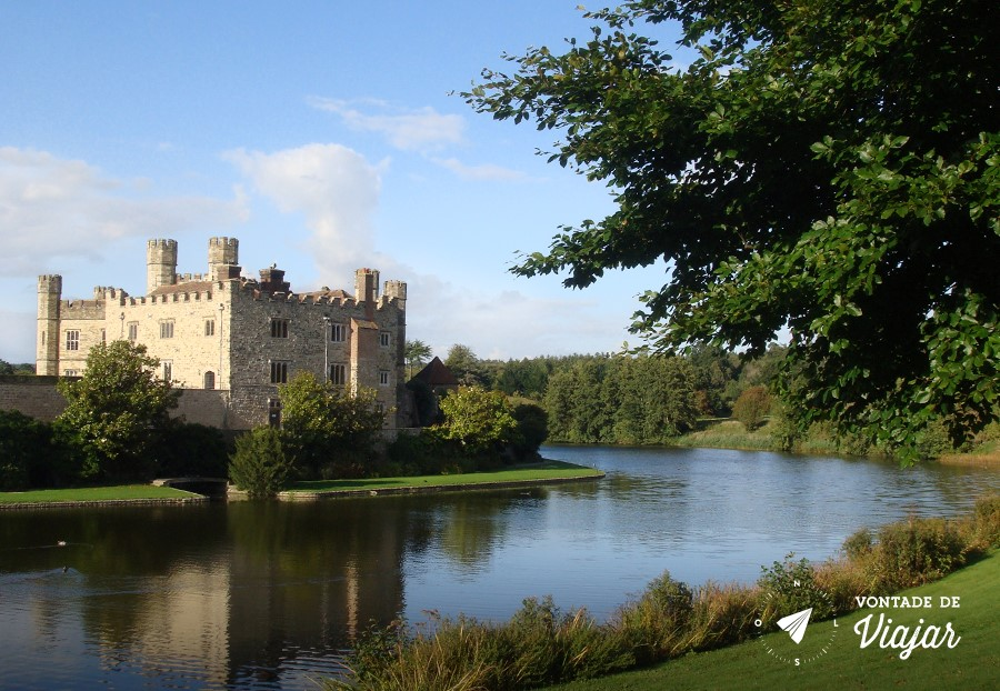 Castelo Leeds Kent - Castelo na Inglaterra