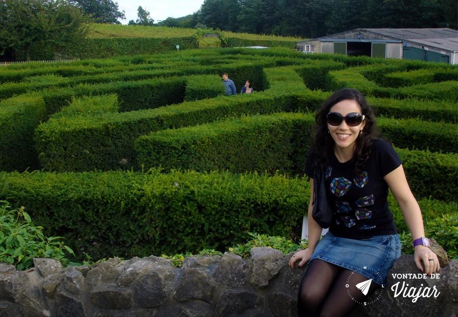 Castelo Leeds Kent - Labirinto verde