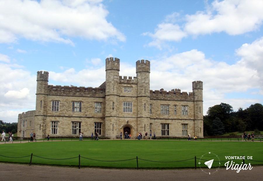 Castelo Leeds Kent - Passeio em familia