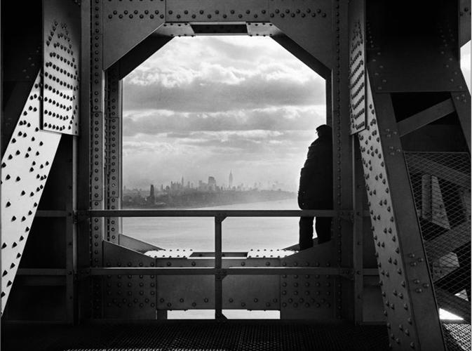NYC Department of Records - Rio Hudson visto da ponte George Washington 1936