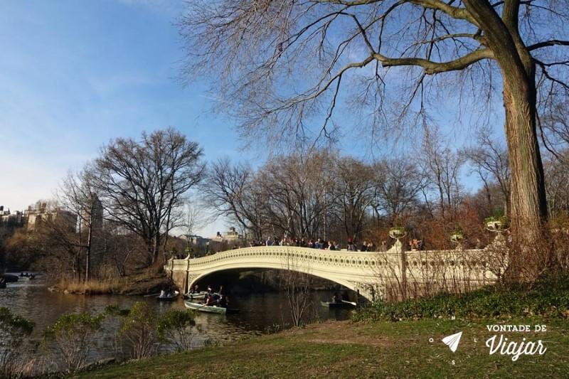 Nova York Central Park - Bow Bridge