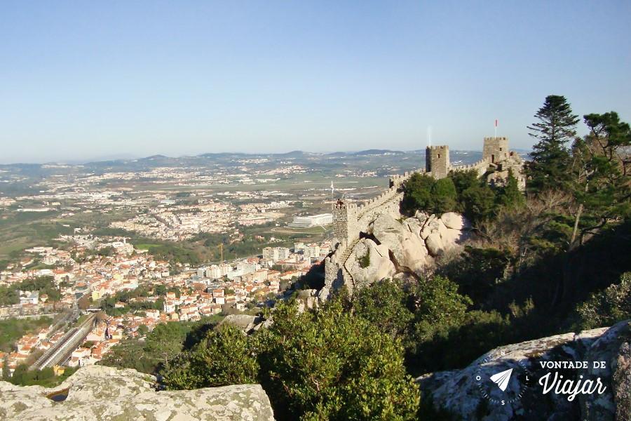 Sintra bate e volta de Lisboa - Castelo dos Mouros