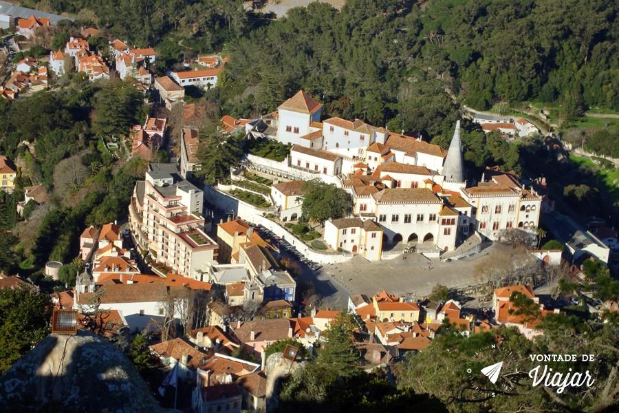 Sintra bate e volta de Lisboa - Vila de Sintra
