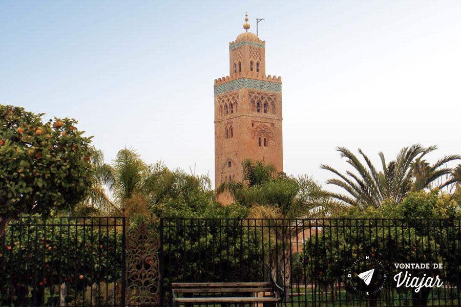 Marrakech - Mesquita Koutoubia