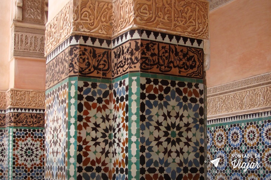 Marrakech - Mosaicos arabes