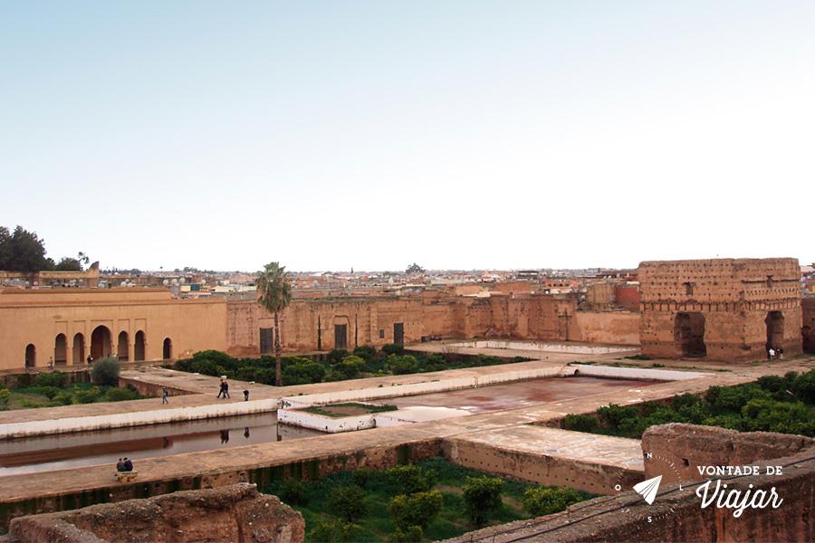 Marrakech - Palacio Badi