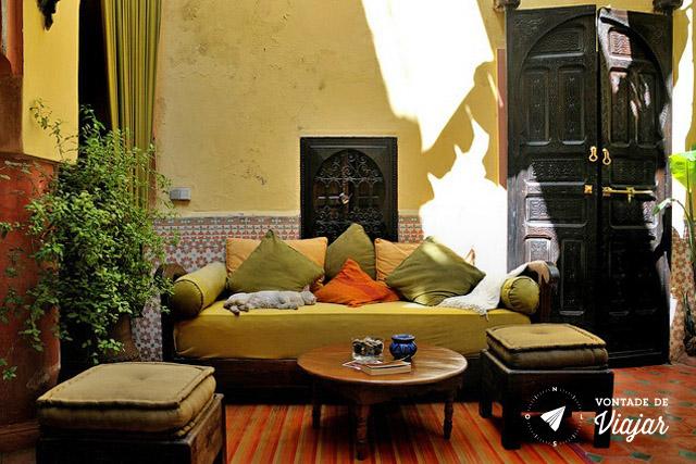 Marrakech - Riad onde ficar em Marrakesh