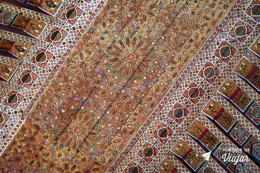 Marrakech - Teto Palais Bahia