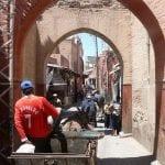 Marrakesh - ruas da Medina