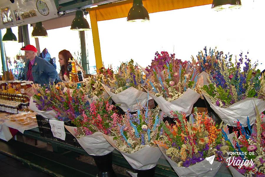 Seattle - Pike Place Market Florista