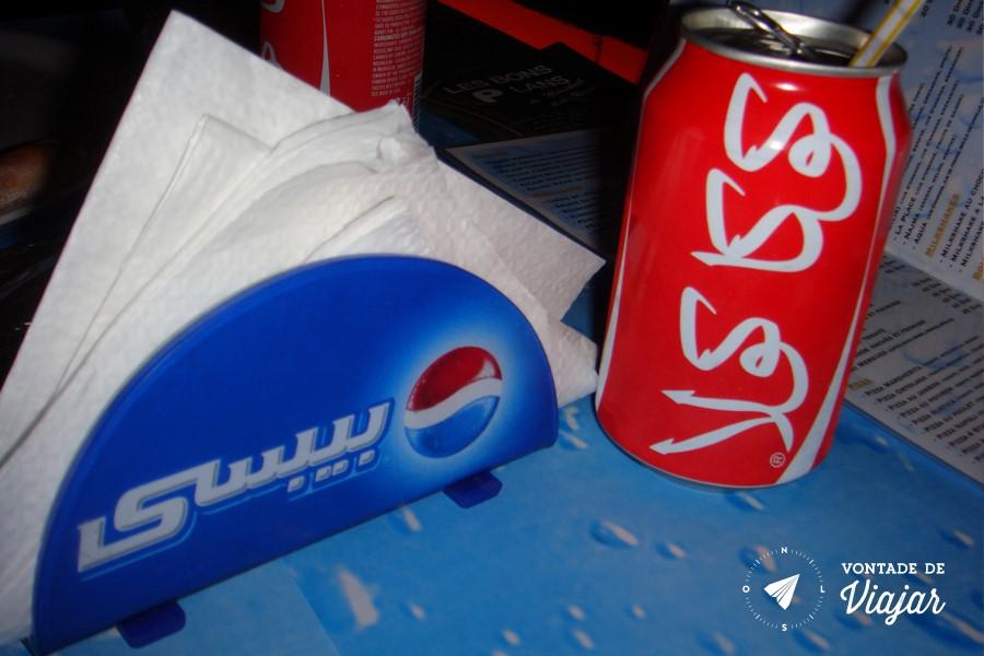 Marrakech - Coca Cola e Pepsi (blog Vontade de Viajar)