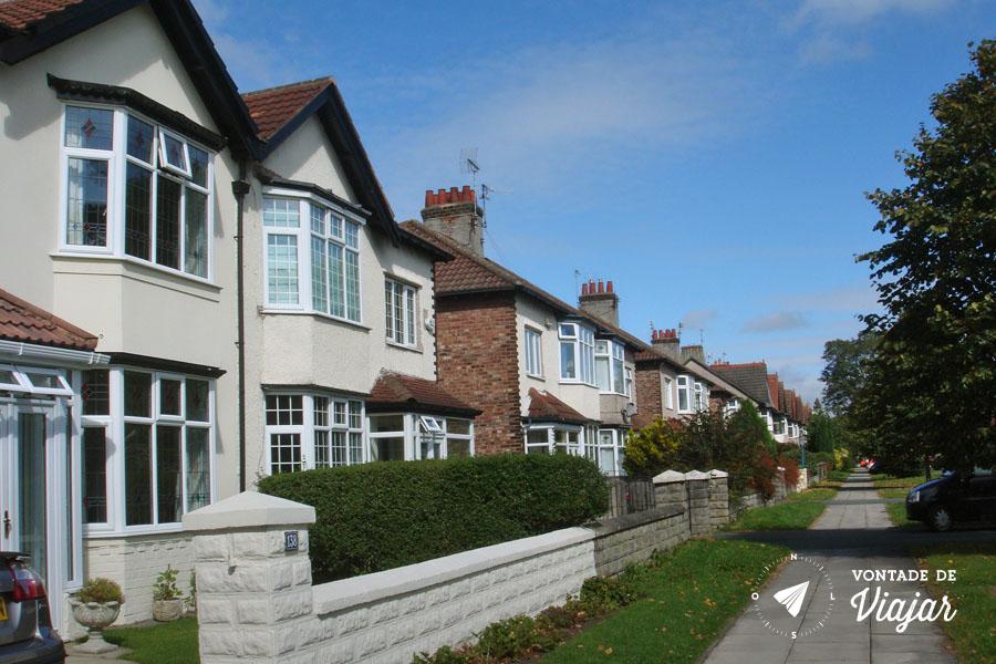 Beatles em Liverpool - Blue suburban skies