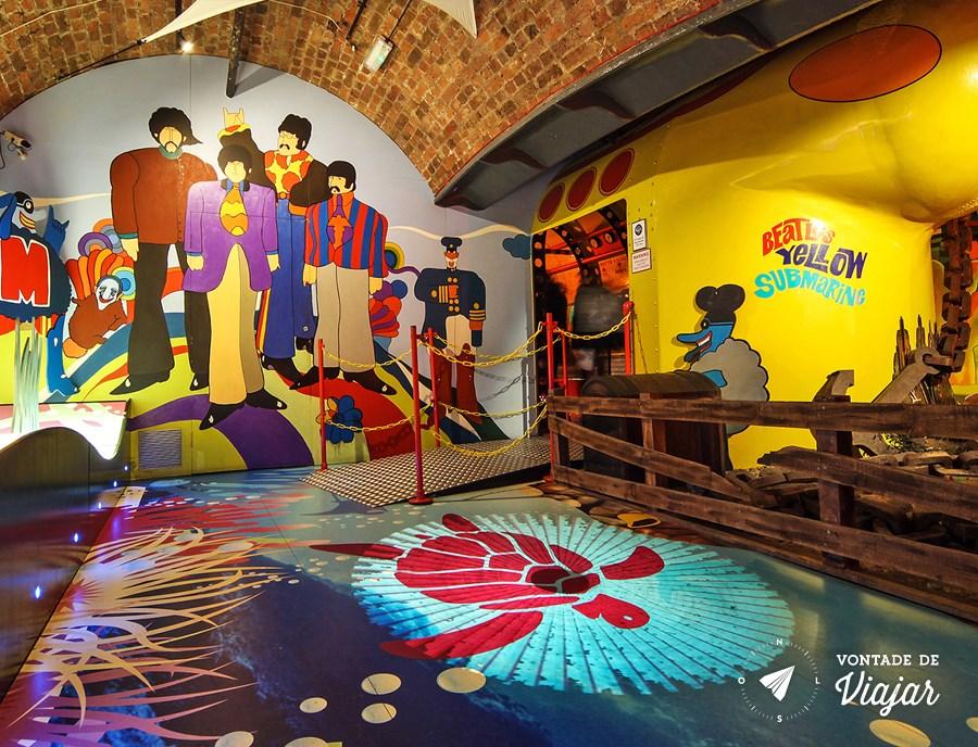 Exposição Beatles Story em Liverpool