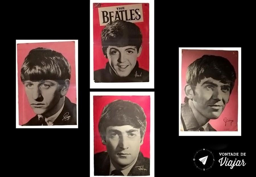 Ringo, Paul, George e John: garotos de Liverpool