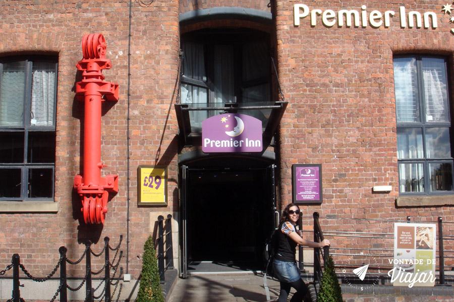 Onde ficar em Liverpool - The Premier Inn Albert Dock