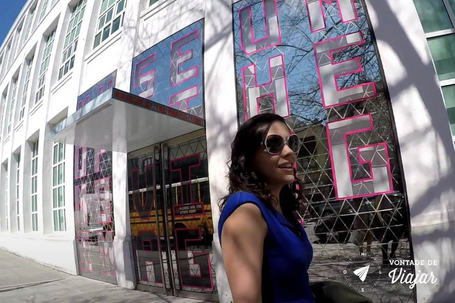 Nova York - Museu da Imagem em Movimento - Museu do Cinema NY Queens