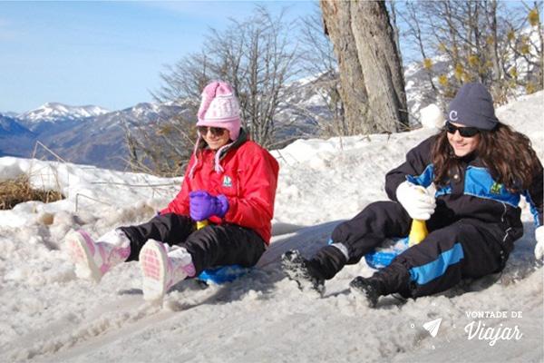 Bariloche - Brincando na neve