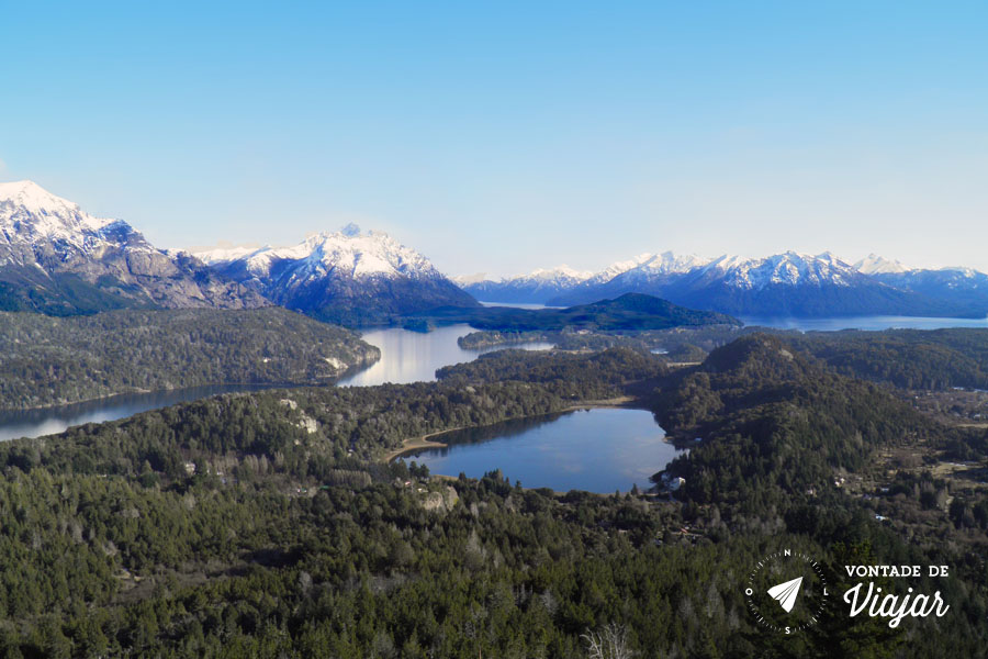 Bariloche - Montanhas e lagos