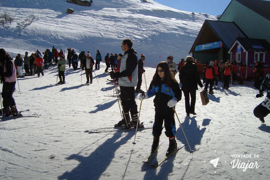 Bariloche - Ski no Cerro Catedral
