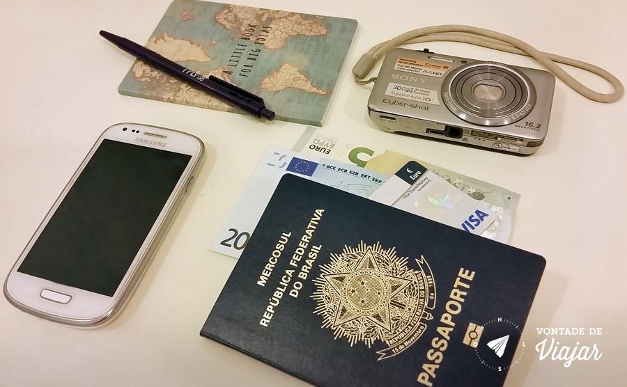 Como arrumar as malas - Documentos e eletronicos na bagagem de mao