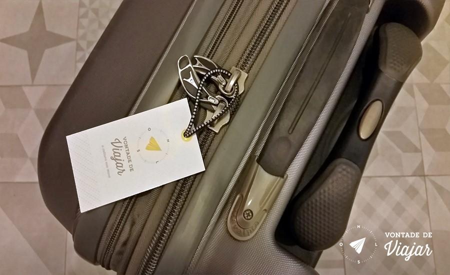 Como fazer as malas - Identificador de bagagem