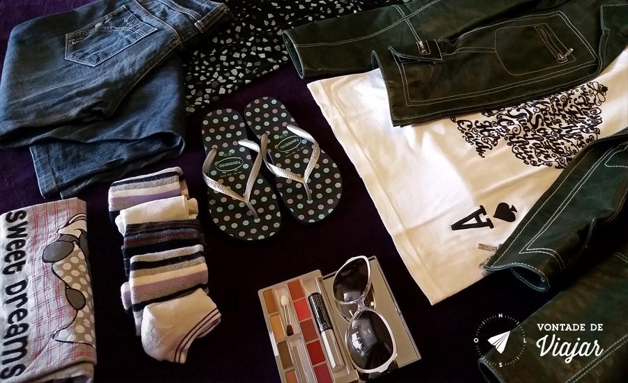 Como fazer as malas - Roupas para levar