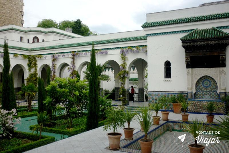 Dicas de Paris - Jardim da Mesquita de Paris