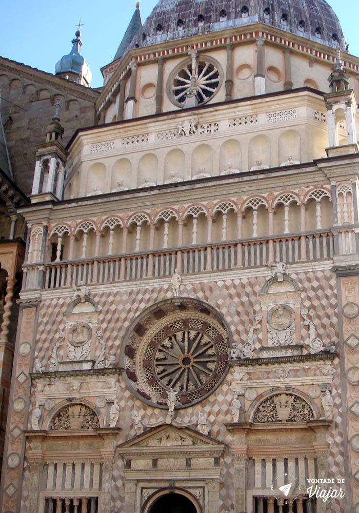 O que fazer em Bergamo - Capella Colleoni