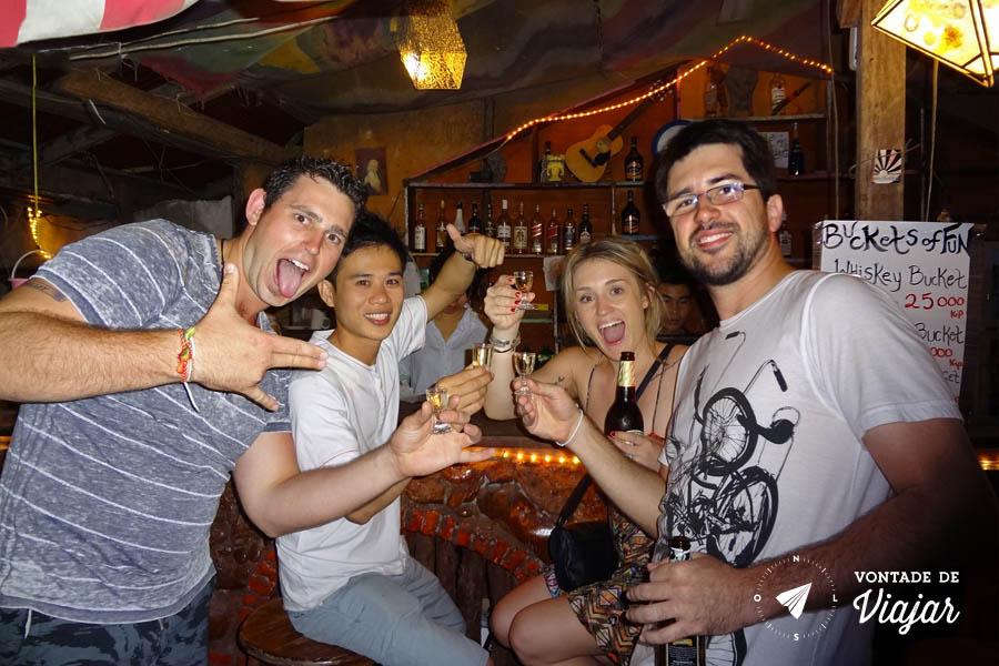Viagem Sudeste Asiatico - Bar em Vang Vieng