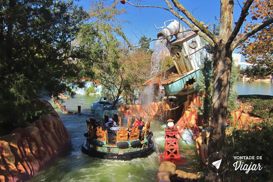 Disney - Brinquedo do Popeye no Islands of Adventure